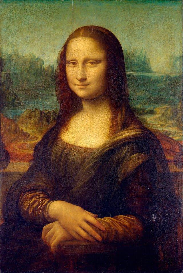 Mona-Lisa- Leonardo da Vinci