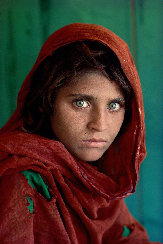 Menina-Afegã-Steve-McCurry fotos que fizeram História
