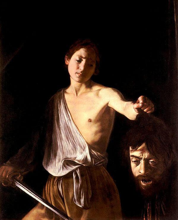 Davi-com-a-cabeça-de-Golias-Caravaggio